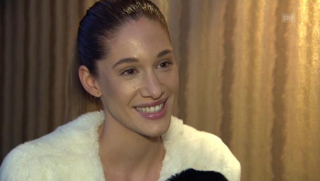 Video «Bianca Gubser Keyman über ihre Flitterwochen» abspielen