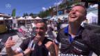 Video «Taubman und Frei - auf dem Sattel für den guten Zweck» abspielen