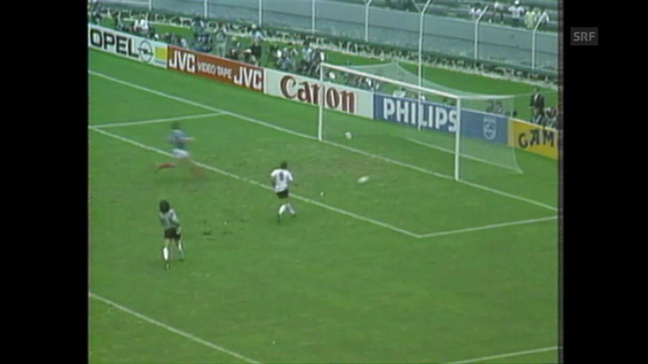 WM 1986: Platini und Co. von Deutschland entzaubert