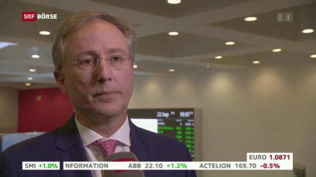 Video «SRF Börse vom 22.09.2016» abspielen