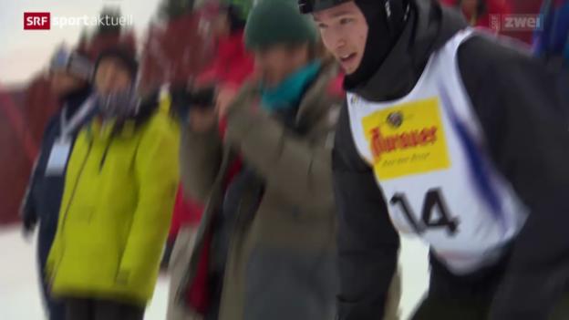 Video «Snowboard: Podladtchikov bestätigt WM-Start» abspielen