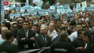 Video «Schweigemarsch für Alberto Nisman» abspielen