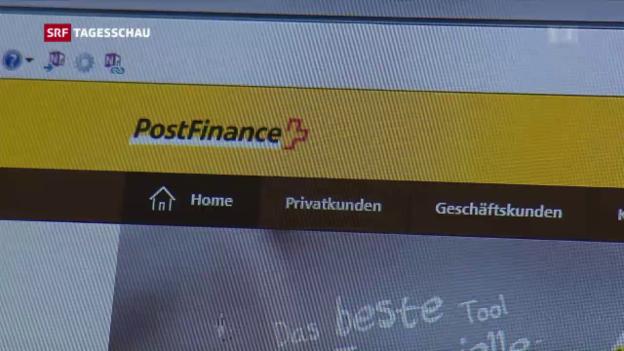 Video «Massive Störung bei Postfinance» abspielen
