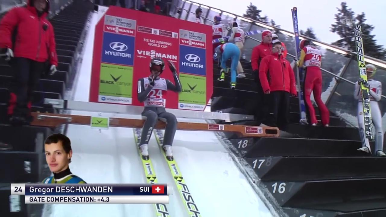 Skispringen: Weltcup Willingen, Sprung Deschwanden