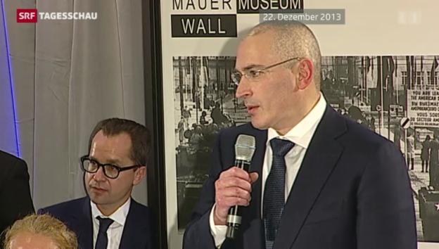 Video «Chodorkowski will in die Schweiz» abspielen