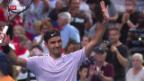 Video «Federer/Bencic besiegen Russland am Hopman Cup» abspielen