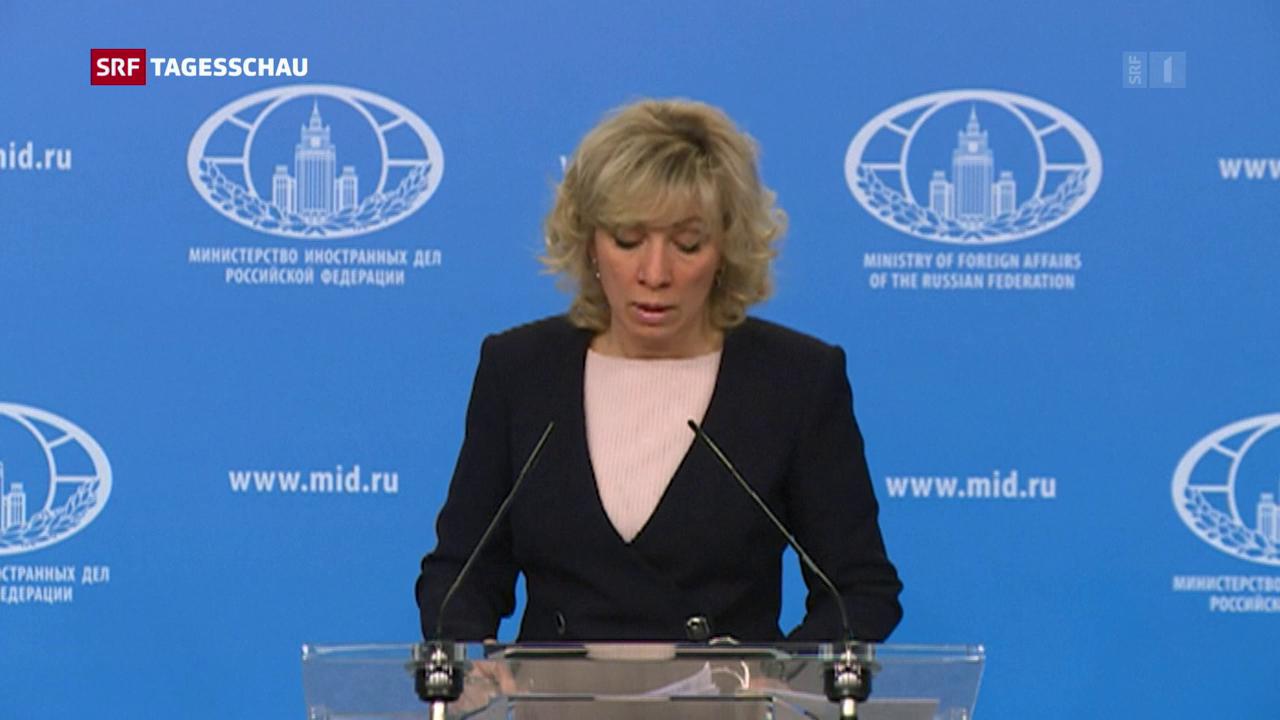Russland plant nach Anschludigung Konsequenzen