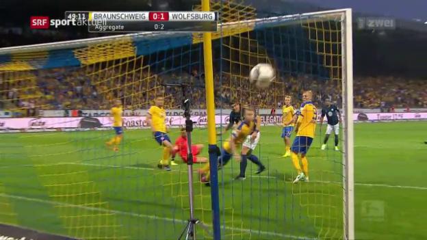 Video «Wolfsburg bleibt oben» abspielen