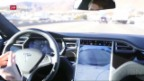 Video «Todesfall mit Tesla-«Autopilot»» abspielen