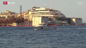 Video «Das Geschäft mit der Costa Concordia» abspielen