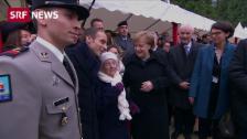 Link öffnet eine Lightbox. Video 101-jährige Dame verwechselt Merkel mit Frau Macron abspielen