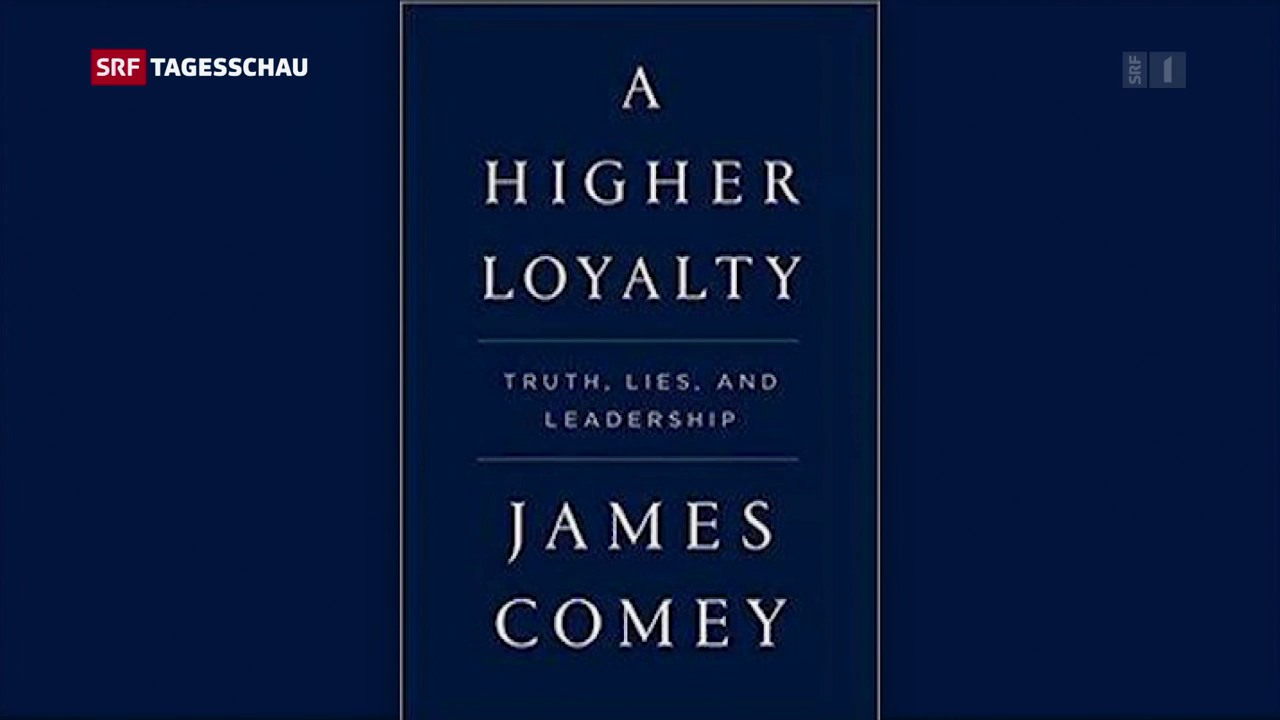 Buch von Ex-FBI-Chef Comey