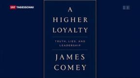 Video «Buch von Ex-FBI-Chef Comey» abspielen