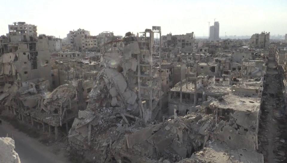 Die einstige Millionenstadt Homs ist nur noch eine Ruine