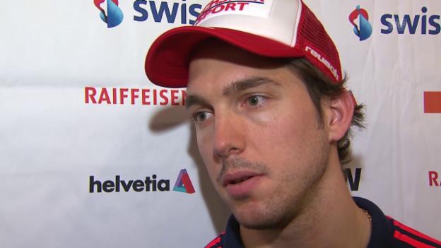 Video «Janka vor den Rennen in Wengen» abspielen