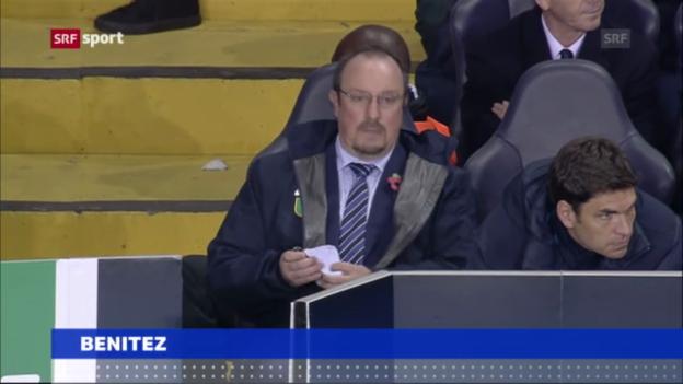 Video «Chelsea-Trainer Benitez sorgt für Aufruhr» abspielen