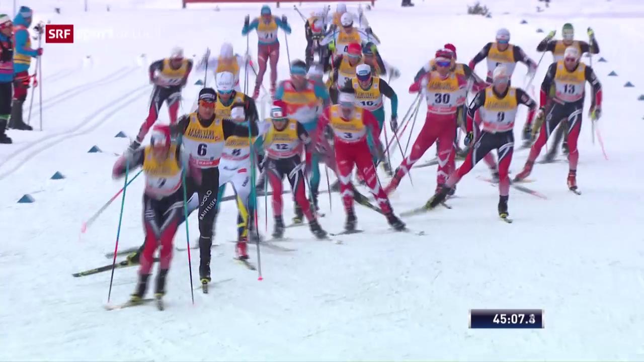 Starker Cologna läuft in Oberstdorf aufs Podest