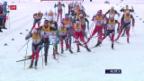 Video «Starker Cologna läuft in Oberstdorf aufs Podest» abspielen