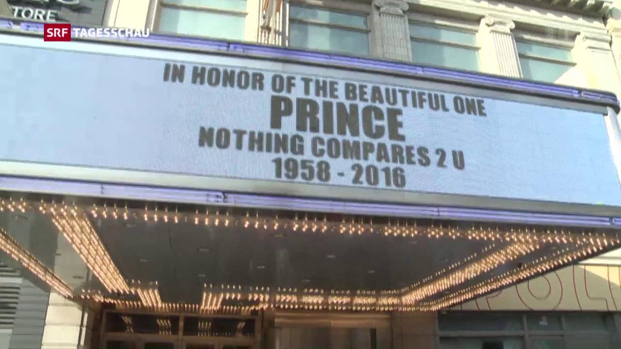 Prince-Fans trauern um ihren Helden