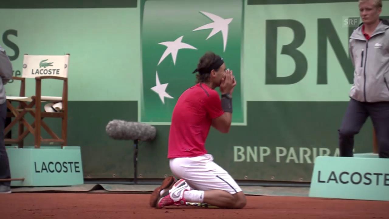 Tennis: French Open, die Siegesserie des Rafael Nadal