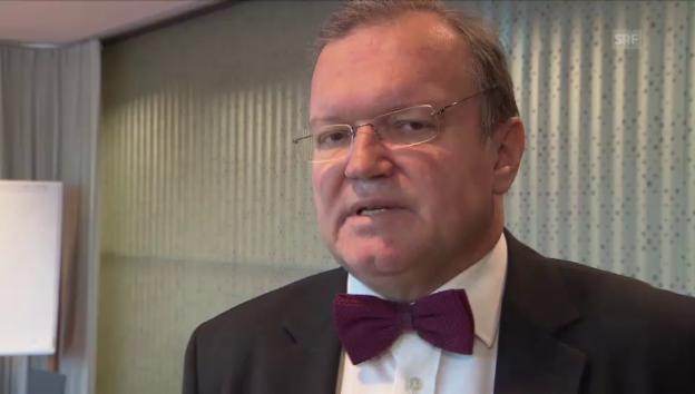 Video «Longchamp: «Widmer-Schlumpf hat grosse Glaubwürdigkeit»» abspielen