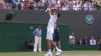 Video «Tennis: Wimbledon, Achtelfinal Djokovic - Anderson» abspielen