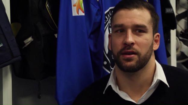 Video «Bezina: «In der KHL ist es taktischer und technischer»» abspielen