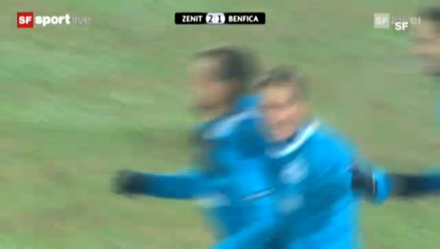 Video «Highlights Zenit St. Petersburg - Benfica Lissabon» abspielen
