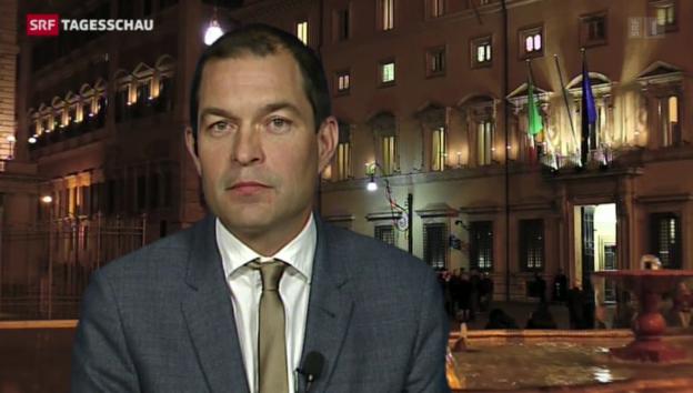 Video «SRF-Korrespondent Philipp Zahn zur neuen Krise in Italien» abspielen