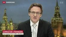 Video «SRF-Korrespondent Christof Franzen zur Freilassung von Chodorkowski» abspielen