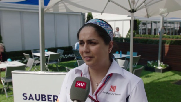 Video «Interview mit Monisha Kaltenborn» abspielen