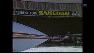 Video «Flugplatz Samedan (1988)» abspielen