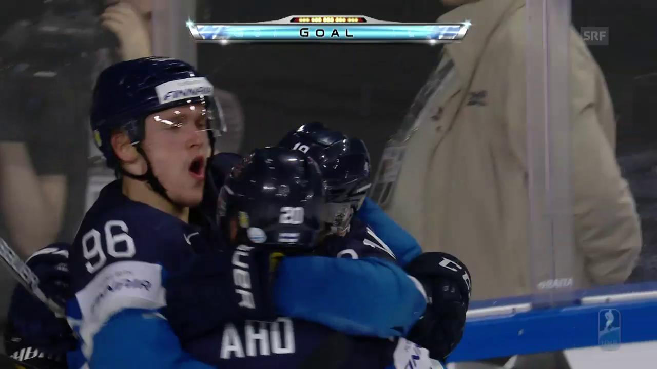 Die Tore bei Finnland-USA