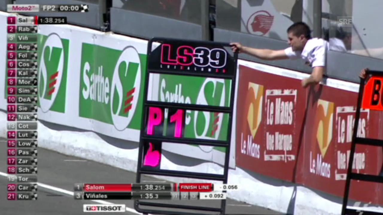 Motorrad: GP Le Mans, Impressionen Trainings Moto2