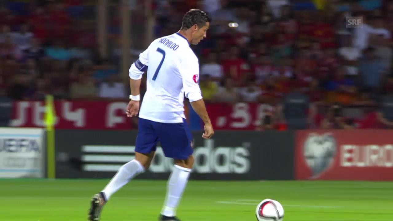 Fussball: EM-Quali, Armenien - Portugal, ZSF