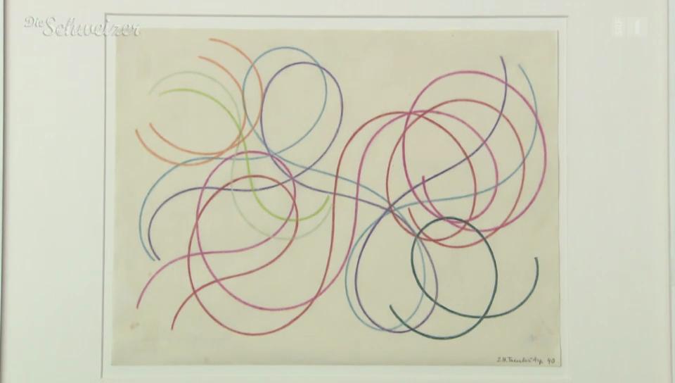 Sophie Taeubers Linienzeichnungen