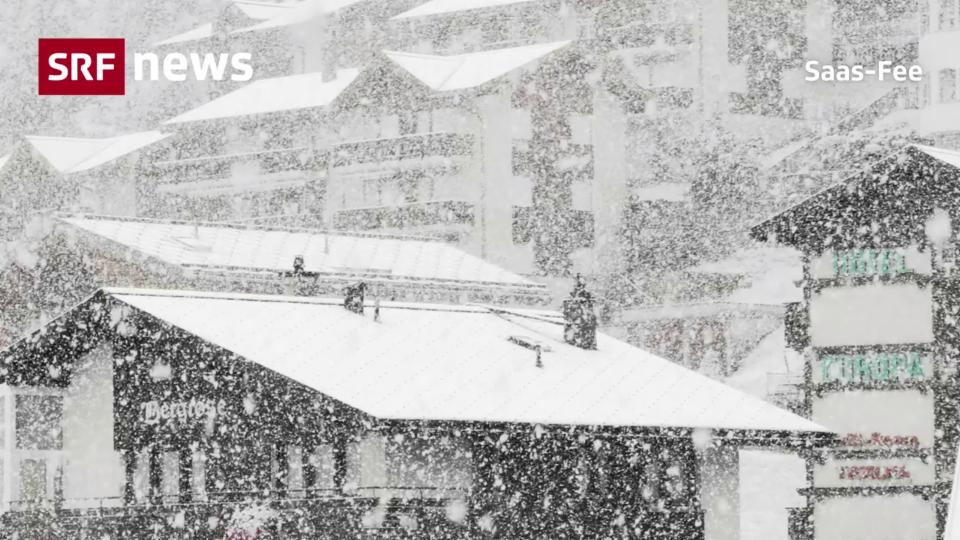 Wintereinbruch auf unter 2000 Meter über Meer