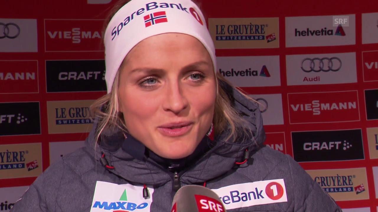 Langlauf: Interview mit Therese Johaug