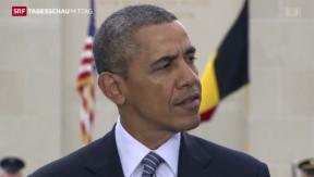 Video «Obama trifft EU-Vertreter» abspielen