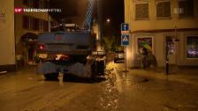Video «Dauerregen in Altstätten (SG)» abspielen