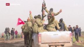 Video «Militäroffensive gegen Kurden» abspielen