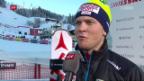Video «Kitzbühel-Premiere für Wengen-Sieger Hintermann» abspielen