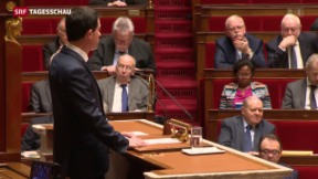 Video «Umstrittene Verfassungsreform in Frankreich» abspielen