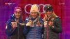 Video «Medaillenfeier Frauen-Slalom in voller Länge» abspielen