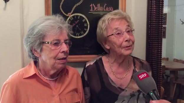 Video «Das sagen die Gäste über «ihr» Della Casa» abspielen