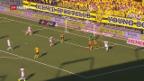 Video «Young Boys gewinnen Kantonsderby» abspielen
