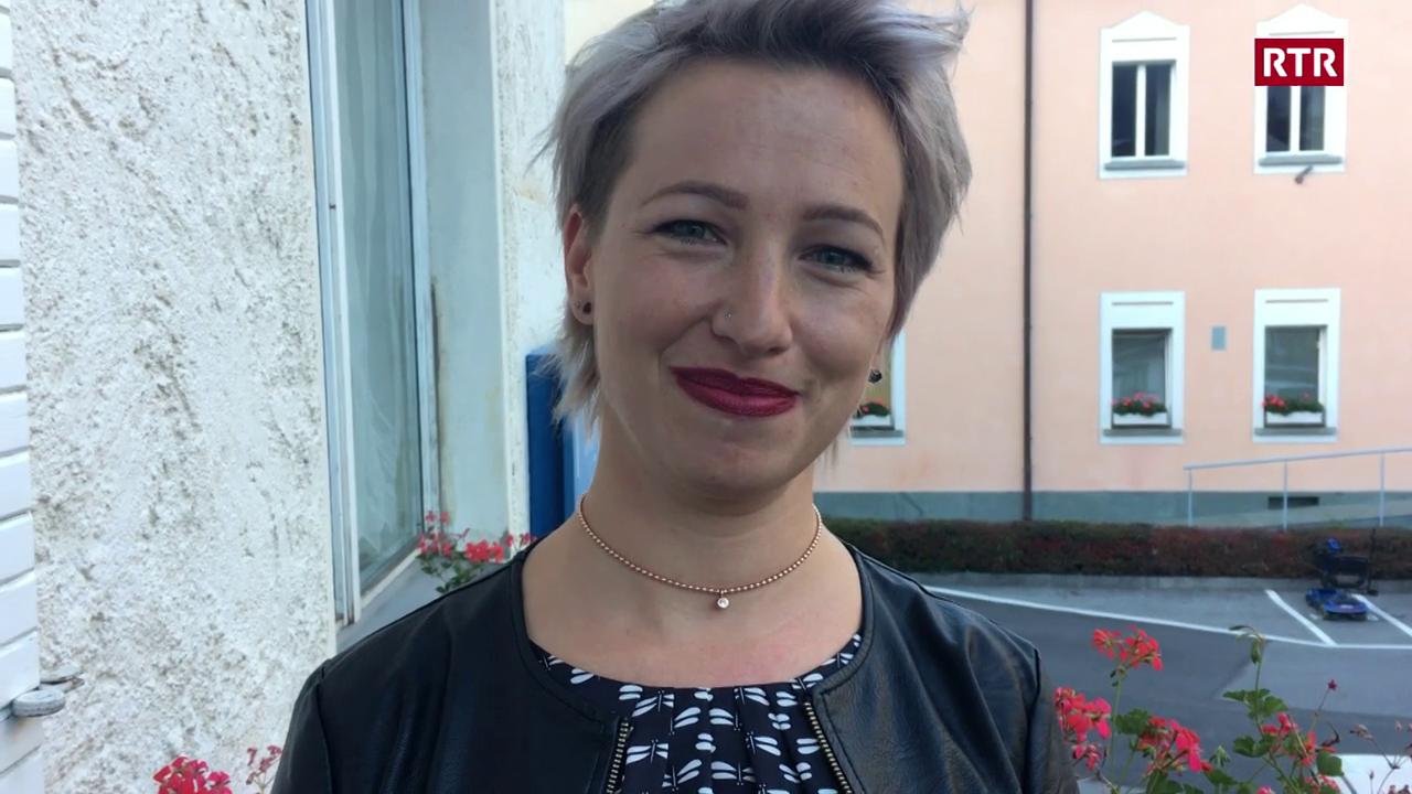 Manuela Kalt d'avart l'acziun