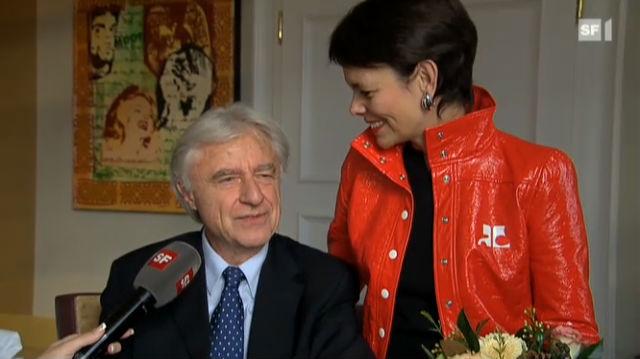 Emil und Niccel Steinberger: Zwölf Jahre glücklich verheiratet.