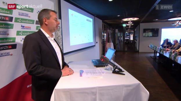 Video «Rad: Medienkonferenz zur Tour de Suisse 2016» abspielen