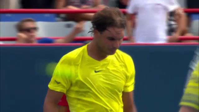 Nadal deklassiert Levine